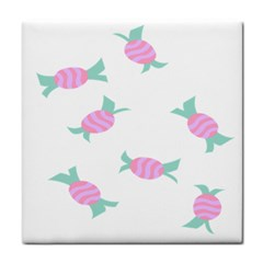 Candy Pink Blue Sweet Face Towel