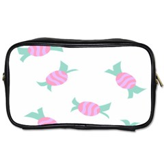 Candy Pink Blue Sweet Toiletries Bags