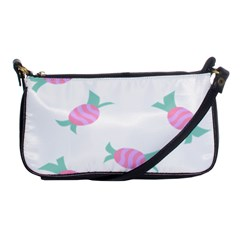Candy Pink Blue Sweet Shoulder Clutch Bags