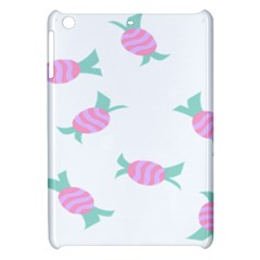 Candy Pink Blue Sweet Apple iPad Mini Hardshell Case