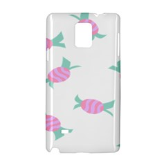 Candy Pink Blue Sweet Samsung Galaxy Note 4 Hardshell Case