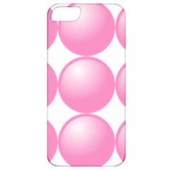 Circle Pink Apple Iphone 5 Classic Hardshell Case