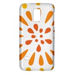 Circle Orange Galaxy S5 Mini