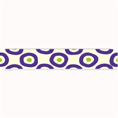 Circle Purple Green White Small Bar Mats