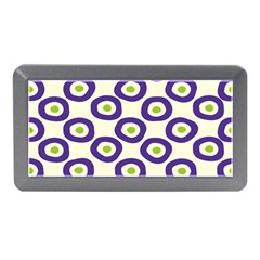 Circle Purple Green White Memory Card Reader (Mini)