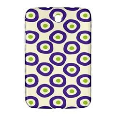Circle Purple Green White Samsung Galaxy Note 8.0 N5100 Hardshell Case