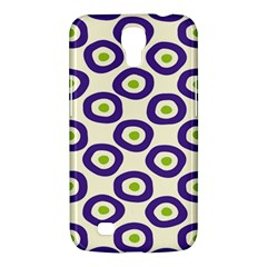 Circle Purple Green White Samsung Galaxy Mega 6 3  I9200 Hardshell Case