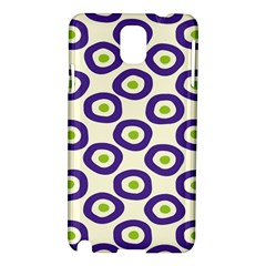 Circle Purple Green White Samsung Galaxy Note 3 N9005 Hardshell Case