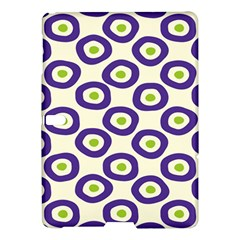 Circle Purple Green White Samsung Galaxy Tab S (10.5 ) Hardshell Case