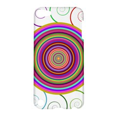 Abstract Spiral Circle Rainbow Color Apple iPod Touch 5 Hardshell Case