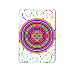 Abstract Spiral Circle Rainbow Color iPad Mini 2 Hardshell Cases