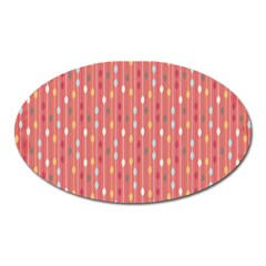 Circle Red Freepapers Paper Oval Magnet