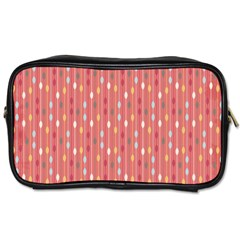 Circle Red Freepapers Paper Toiletries Bags