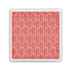 Circle Red Freepapers Paper Memory Card Reader (Square)