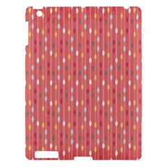 Circle Red Freepapers Paper Apple iPad 3/4 Hardshell Case