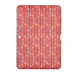 Circle Red Freepapers Paper Samsung Galaxy Tab 2 (10.1 ) P5100 Hardshell Case
