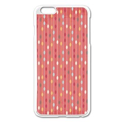 Circle Red Freepapers Paper Apple iPhone 6 Plus/6S Plus Enamel White Case