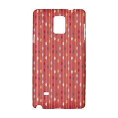 Circle Red Freepapers Paper Samsung Galaxy Note 4 Hardshell Case