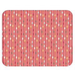 Circle Red Freepapers Paper Double Sided Flano Blanket (Medium)