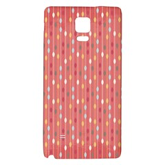 Circle Red Freepapers Paper Galaxy Note 4 Back Case