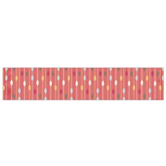 Circle Red Freepapers Paper Flano Scarf (Small)