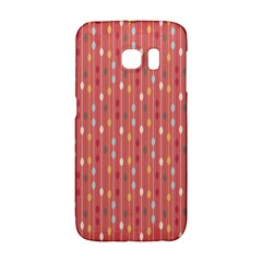 Circle Red Freepapers Paper Galaxy S6 Edge
