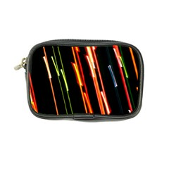 Colorful Diagonal Lights Lines Coin Purse