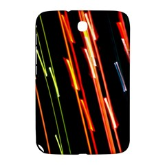 Colorful Diagonal Lights Lines Samsung Galaxy Note 8.0 N5100 Hardshell Case