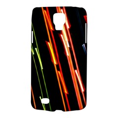 Colorful Diagonal Lights Lines Galaxy S4 Active