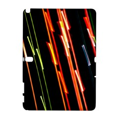 Colorful Diagonal Lights Lines Galaxy Note 1