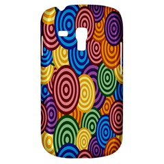 Circles Color Yellow Purple Blu Pink Orange Illusion Galaxy S3 Mini