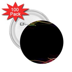 Colorful Light Frame Line 2.25  Buttons (100 pack)