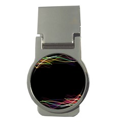 Colorful Light Frame Line Money Clips (Round)