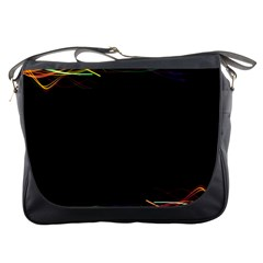 Colorful Light Frame Line Messenger Bags