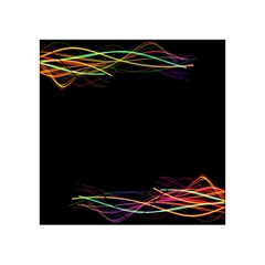 Colorful Light Frame Line Acrylic Tangram Puzzle (4  x 4 )