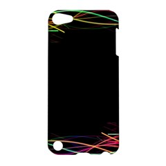 Colorful Light Frame Line Apple iPod Touch 5 Hardshell Case