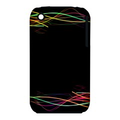 Colorful Light Frame Line iPhone 3S/3GS