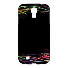 Colorful Light Frame Line Samsung Galaxy S4 I9500/I9505 Hardshell Case