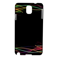 Colorful Light Frame Line Samsung Galaxy Note 3 N9005 Hardshell Case