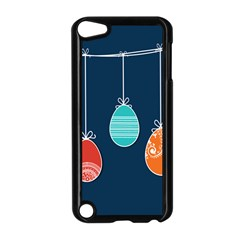 Easter Egg Balloon Pink Blue Red Orange Apple iPod Touch 5 Case (Black)