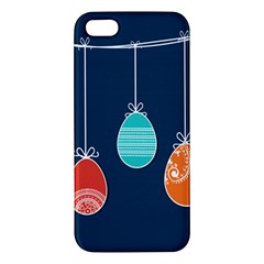 Easter Egg Balloon Pink Blue Red Orange Apple iPhone 5 Premium Hardshell Case