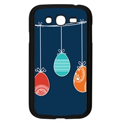 Easter Egg Balloon Pink Blue Red Orange Samsung Galaxy Grand DUOS I9082 Case (Black)