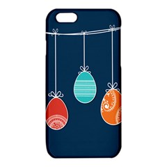 Easter Egg Balloon Pink Blue Red Orange iPhone 6/6S TPU Case
