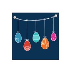 Easter Egg Balloon Pink Blue Red Orange Satin Bandana Scarf