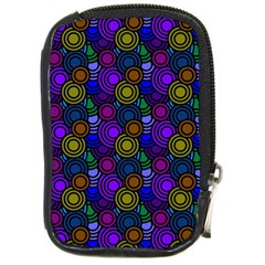 Circles Color Yellow Purple Blu Pink Orange Compact Camera Cases