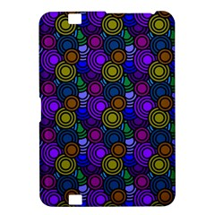 Circles Color Yellow Purple Blu Pink Orange Kindle Fire HD 8.9