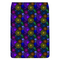 Circles Color Yellow Purple Blu Pink Orange Flap Covers (L)