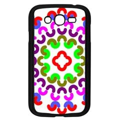 Decoration Red Blue Pink Purple Green Rainbow Samsung Galaxy Grand Duos I9082 Case (black)