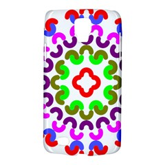 Decoration Red Blue Pink Purple Green Rainbow Galaxy S4 Active