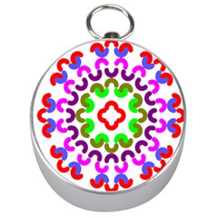 Decoration Red Blue Pink Purple Green Rainbow Silver Compasses